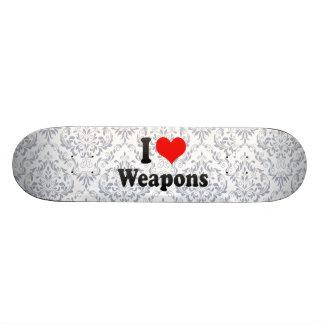 Amo las armas tablas de patinar