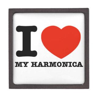Amo las armónicas cajas de joyas de calidad