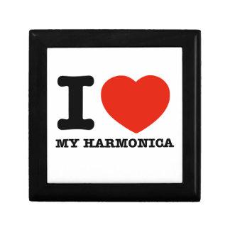 Amo las armónicas caja de regalo