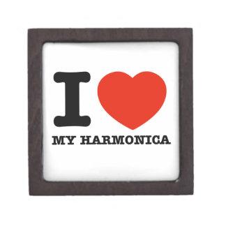 Amo las armónicas caja de regalo de calidad