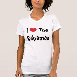 Amo las Bahamas Camisetas