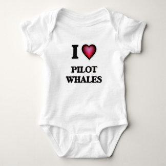 Amo las ballenas experimentales remera
