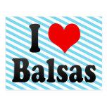 Amo las balsas, el Brasil Postal