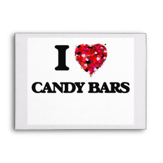 Amo las barras de caramelo sobres