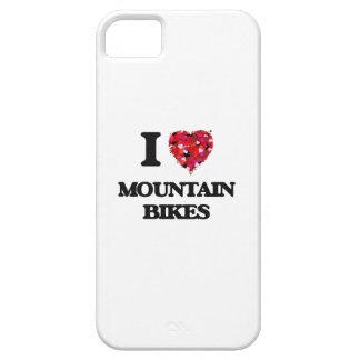 Amo las bicis de montaña iPhone 5 carcasa