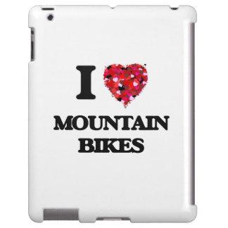 Amo las bicis de montaña funda para iPad