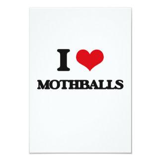 """Amo las bolas de naftalina invitación 3.5"""" x 5"""""""