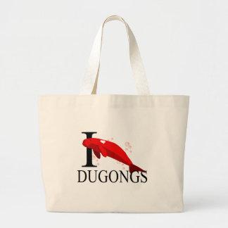 Amo las bolsas de asas de Dugongs