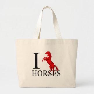 Amo las bolsas de asas de los caballos