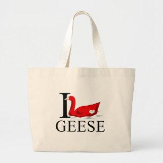 Amo las bolsas de asas de los gansos