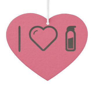 Amo las botellas de agua
