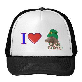 Amo las cabras irlandesas - REGALO del DÍA de ST P Gorras