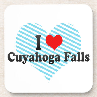 Amo las caídas de Cuyahoga Estados Unidos Posavasos De Bebida