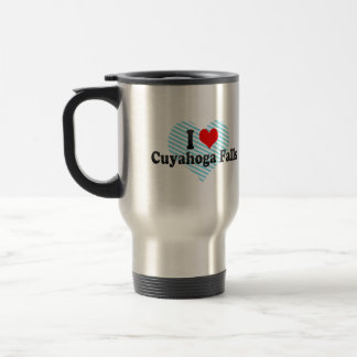 Amo las caídas de Cuyahoga Estados Unidos Tazas De Café