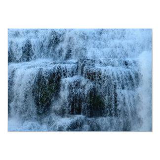 """¡Amo las caídas de Ithaca, Nueva York! Invitación 5"""" X 7"""""""