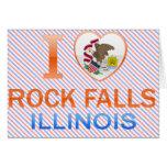 Amo las caídas de la roca, IL Felicitacion