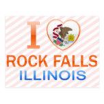 Amo las caídas de la roca, IL Tarjeta Postal
