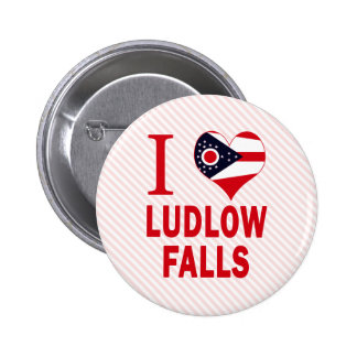 Amo las caídas de Ludlow, Ohio Pins