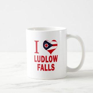 Amo las caídas de Ludlow, Ohio Taza De Café
