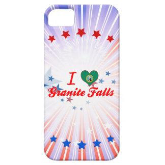 Amo las caídas del granito, Washington iPhone 5 Case-Mate Carcasa