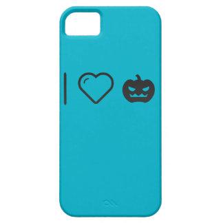 Amo las calabazas de Halloween Funda Para iPhone 5 Barely There