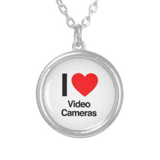 amo las cámaras de vídeo colgante redondo