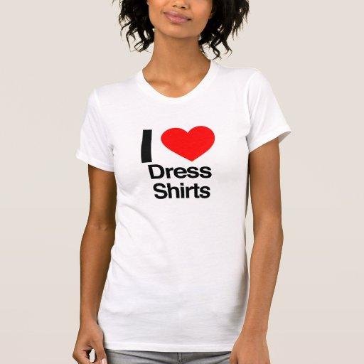 amo las camisas de vestir playera