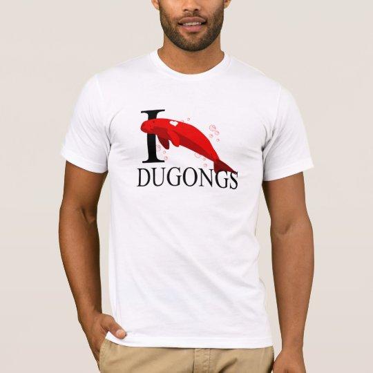 Amo las camisetas de Dugongs