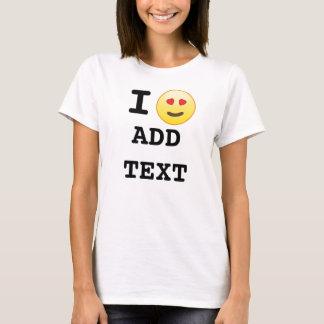 Amo las camisetas de encargo