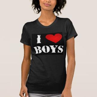 Amo las camisetas de los muchachos