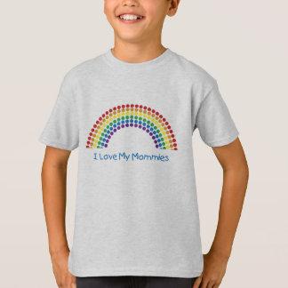 Amo las camisetas de mi niño de las mamás playera