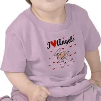 Amo las camisetas y los regalos de los ángeles