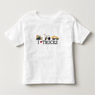 Amo las camisetas y los regalos de los camiones remeras