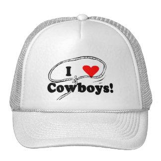 Amo las camisetas y los regalos de los vaqueros gorra