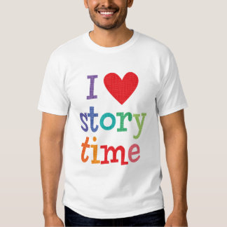 Amo las camisetas y los regalos de Storytime Camisas