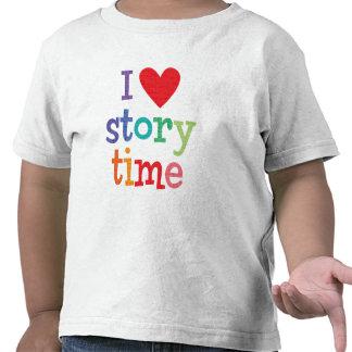 Amo las camisetas y los regalos de Storytime