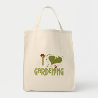 Amo las camisetas y los regalos que cultivan un hu bolsa tela para la compra