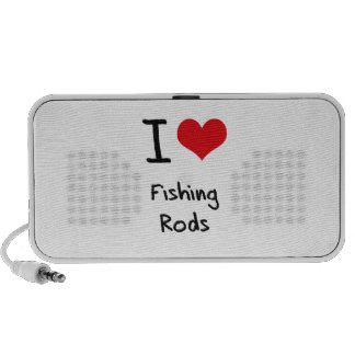 Amo las cañas de pescar iPhone altavoces