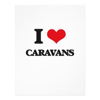 Amo las caravanas flyer a todo color