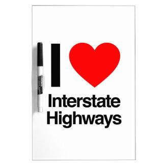 amo las carreteras nacionales pizarras