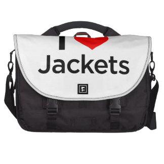 Amo las chaquetas bolsas para portátil