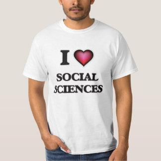 Amo las ciencias sociales playera