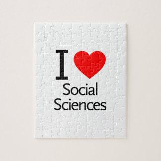 Amo las ciencias sociales puzzles