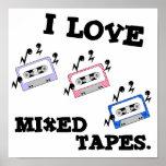 Amo las cintas mezcladas poster
