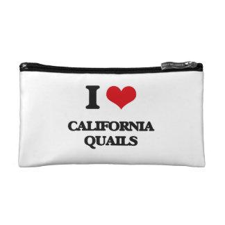 Amo las codornices de California