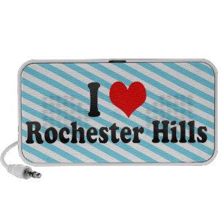 Amo las colinas de Rochester, Estados Unidos Mini Altavoces
