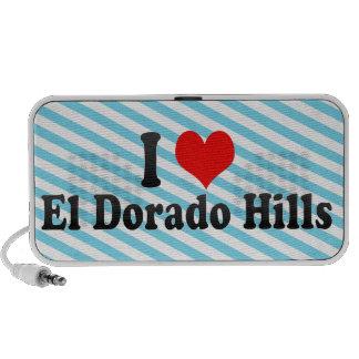Amo las colinas del EL Dorado, Estados Unidos Mini Altavoz