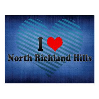 Amo las colinas del norte de Richland, Estados Uni Postales