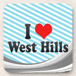 Amo las colinas del oeste, Estados Unidos Posavasos De Bebida