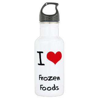 Amo las comidas congeladas